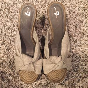7 for all Mankind espadrilles