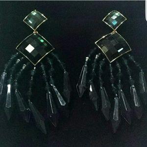 Balmain X H&M limited edition chandelier earrings