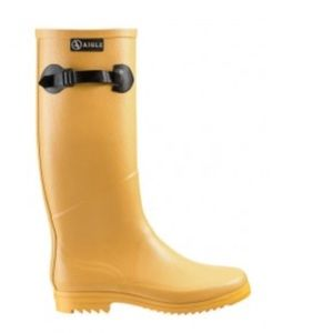 Aigle Shoes - Aigle yellow rain boots