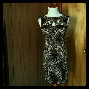 XOXO leopard print dress