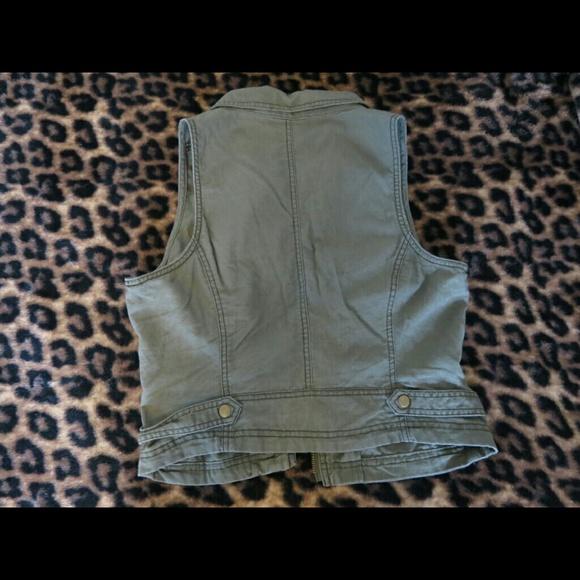 Maurices Jackets & Coats - Asymmetric Zip Military Vest
