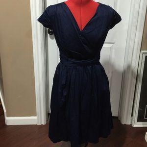 ISAAC MIZRAHI NAVY DRESS BY Target