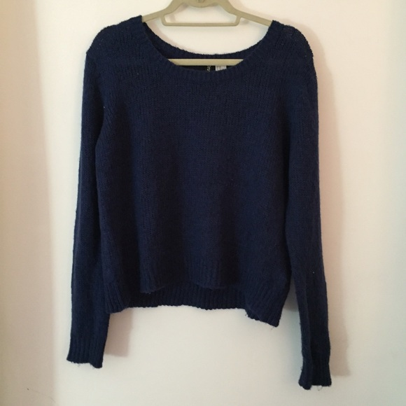 H&M - H&M baggy blue sweater sz10 NWOT from Jess's closet on Poshmark
