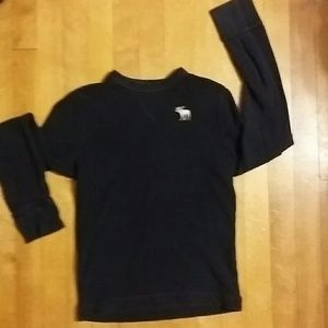 Abercrombie thermal long sleeve shirt