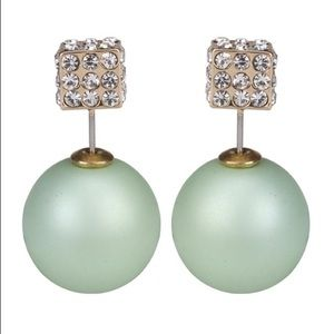 Gorgeous Matte EarringsMint