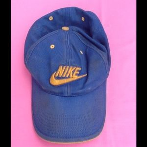 Nike Hat Blue And Yellow