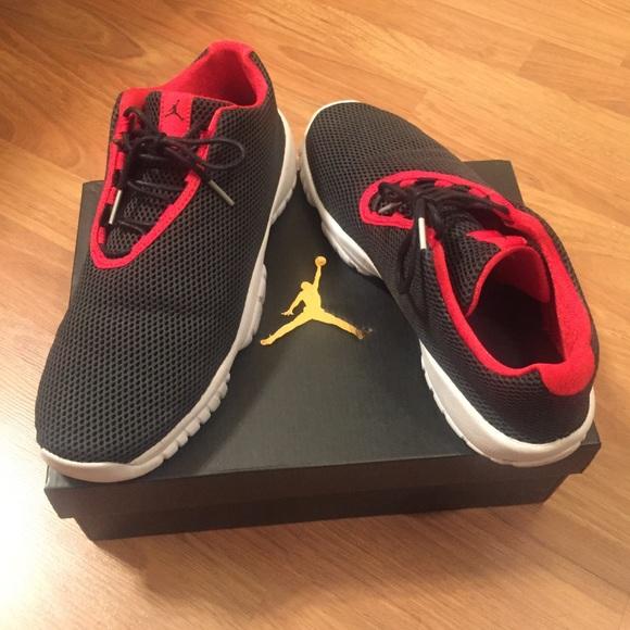 33b6edceb8ce Jordan Shoes - Air Jordan Future Low Black  University Red-White