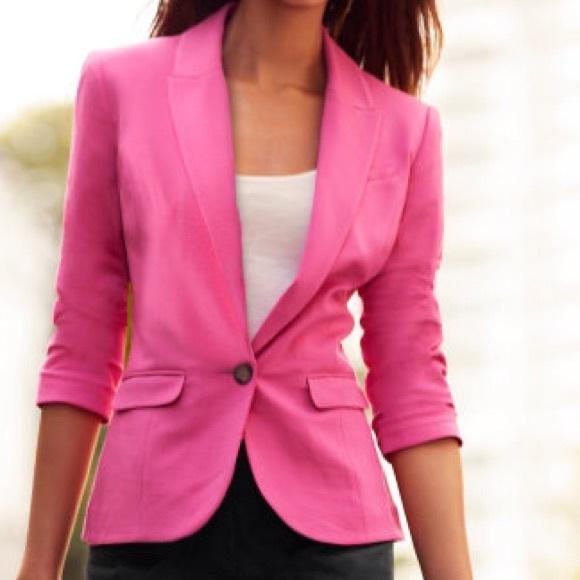 69% off H&M Jackets & Blazers - H&M Jersey Blazer Jacket Coat Size ...