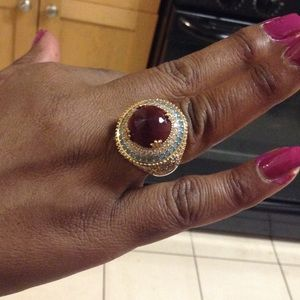 HANDCRAFTED NATURAL RUBY RING