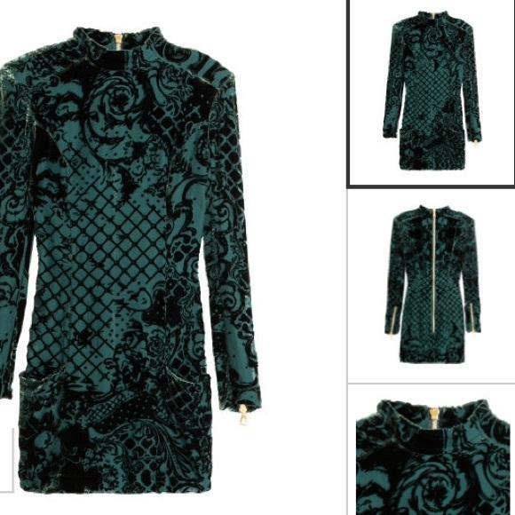 7d6b8407aebd1 Balmain X H M Black Velvet Dress – Little Black Dress | Black Lace ...