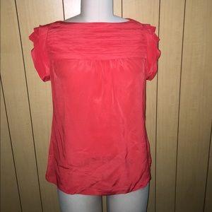 Silk Short Sleeve Shirt