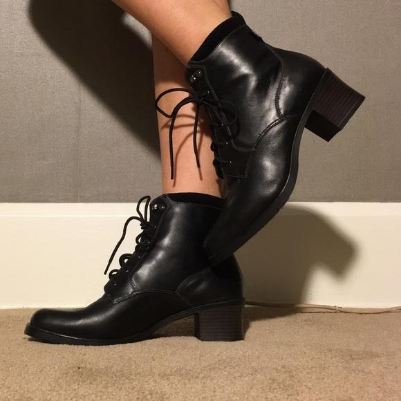 Black Coach Shoes Without Laces