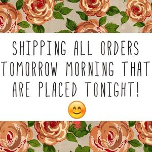 LAST CHANCE TO ORDER FOR DISCOUNTED SHIPPING!!