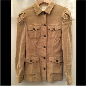Anna Sui Jackets & Blazers - 💯Authentic ANNA SUI Beige Corduroy Blazer Jacket