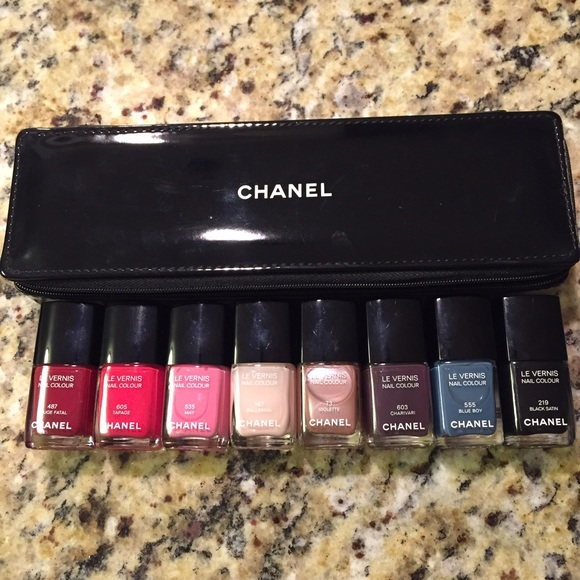 CHANEL Other | Limited Edition Nail Polish Set | Poshmark