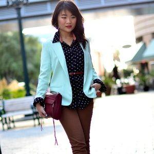 Jackets & Blazers - New urban outfitters mint blazer