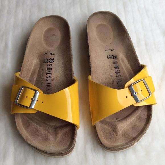 5280f4e8fbb Yellow Madrid Birkenstock s 39