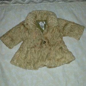 Faux fur coat -6M