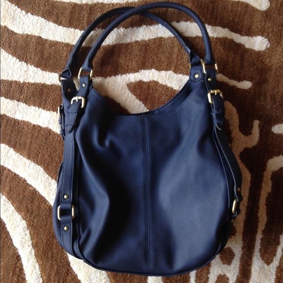 57% off Merona Handbags - Merona Timeless Collection Hobo Bag w ...