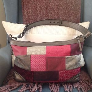 Coach Handbags - Coach Holiday Patchwork limited Edition hobo