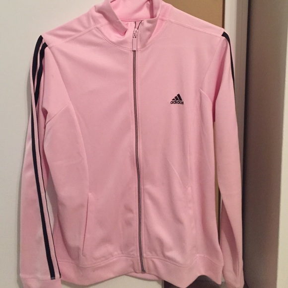 b84dae811a29 Adidas Jackets   Blazers - Light pink track jacket by Adidas