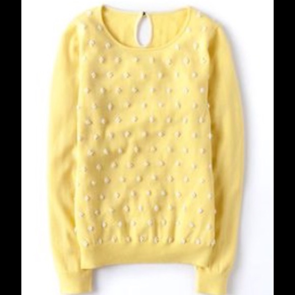 57 off boden sweaters women 39 s boden french knot sweater for Boden yellow