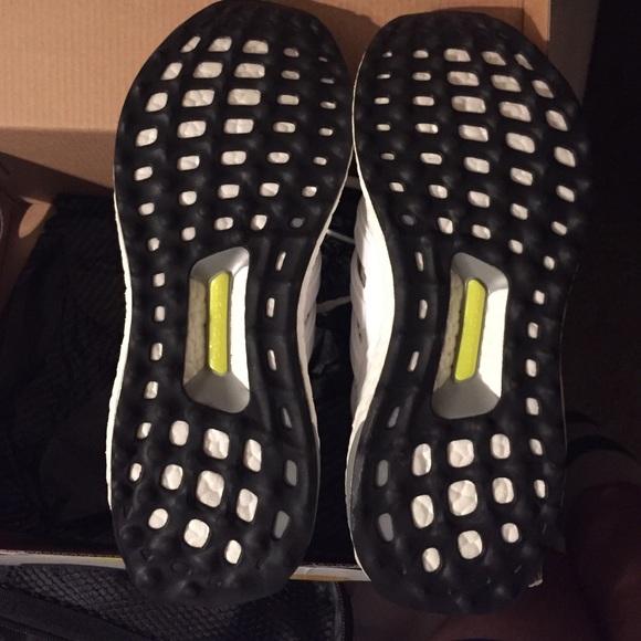Adidas Ultra Boost Hvite Kvinner Størrelse 7 3jfRg