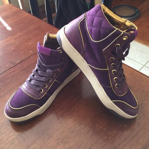 Aldo Shoes High Top Tennis Poshmark