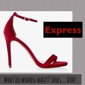 Express Shoes - 🆕Express Faux Suede Sandals