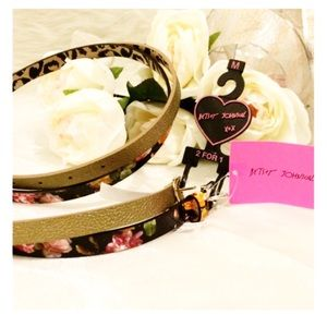 Betsey Johnson Accessories - 2 for 1 Belts by Betsey Johnson
