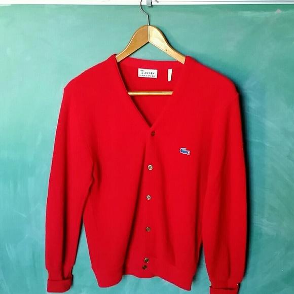 a776ceaf7e7d4 Vintage Izod Lacoste Cardigan