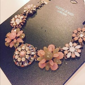 Sophia & Kate Jewelry - Floral Statement Necklace