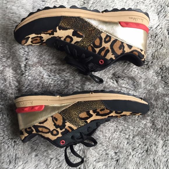 1a10fcb1733f Sam Edelman Dax Leopard Sneaker. M 56438f4277adeae832037c92