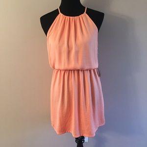Dresses & Skirts - NWT Orange Halter Dress Sz M