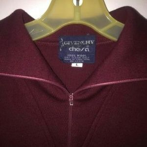 givenchy for chesa Sweaters - Burgundy Givenchy for Chesa