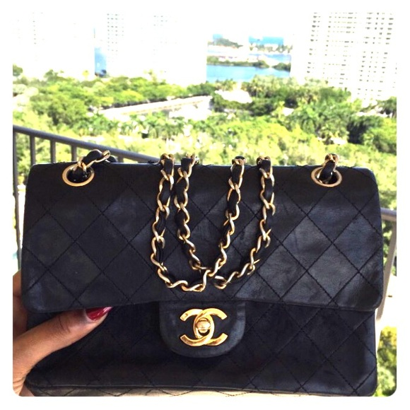 9447293db5df CHANEL Bags | Original 80s Vintage Black Lambskin Flap | Poshmark