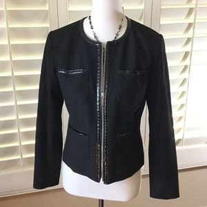 Michael Michael Kors black zipper jacket