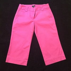 J. Crew pink Capri pants, Favorite Fit