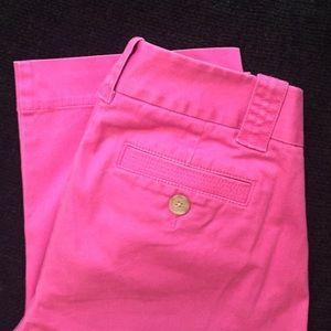 J. Crew Pants - J. Crew pink Capri pants, Favorite Fit