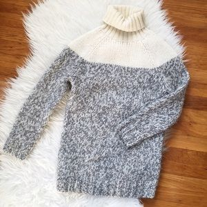 J. Crew Sweaters - SALE -- J. Crew chunky turtleneck sweater