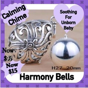 Jewelry - BNWT- Sterling Silver Harmony Ball/Bell w/ Chain.