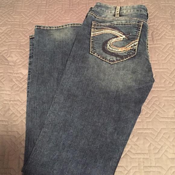 54% off Silver Jeans Denim - Silver Berkley jeans 33x34 from ...