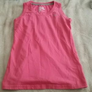 Dri-fit nike pink shirt
