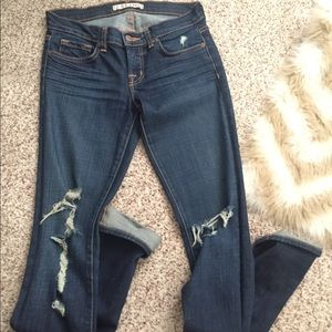 J Brand Denim - J Brand distressed denim