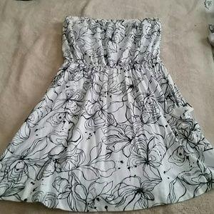 Thin tube dress