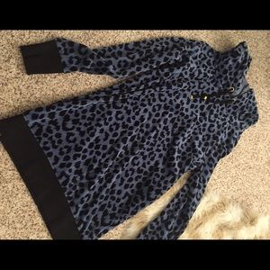 Victoria's Secret Sweaters - Victoria Secret cheetah print tunic