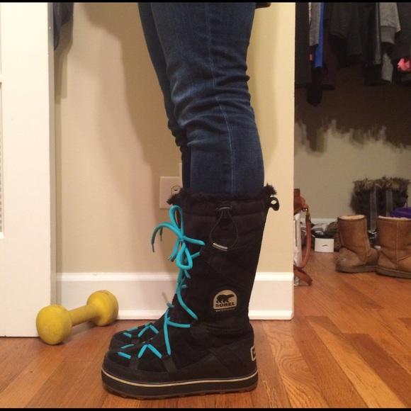 37 Off Sorel Shoes Sorel Women S Glacy Explorer Boot