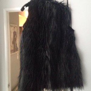 Lanvin for H&M Jackets & Coats - Lanvin for h&m fur vest