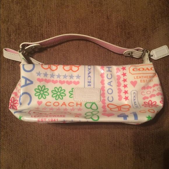 765249a408 new style ladies coach purse 79550 aee16