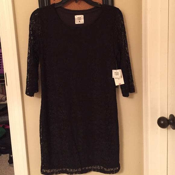 6f990d00b4c Fitted Brand New Black Lace Dress NWT